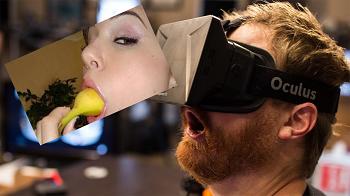 BOMBER NEWS: visore a realtà aumentata per vedere i porno: ovviamente lo acquista Zuckerberg.