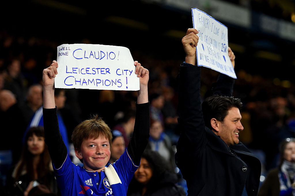 God save Leicester City