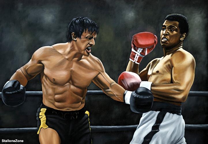 Muhammad Alì vs Rocky Balboa