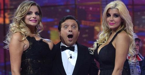 """Piero Chiambretti dal nulla: """"Ho visto Maradona nudo""""."""