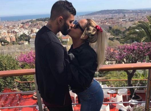 Gabi in Gol… con la sorella di Neymar