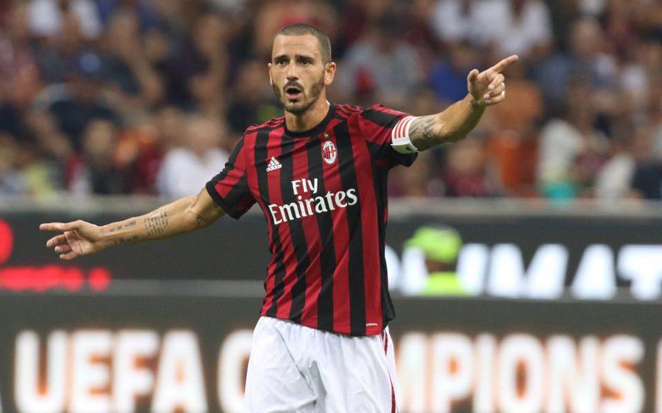 """Sprofondo """"rosso"""". Bonucci lascia la fascia?"""