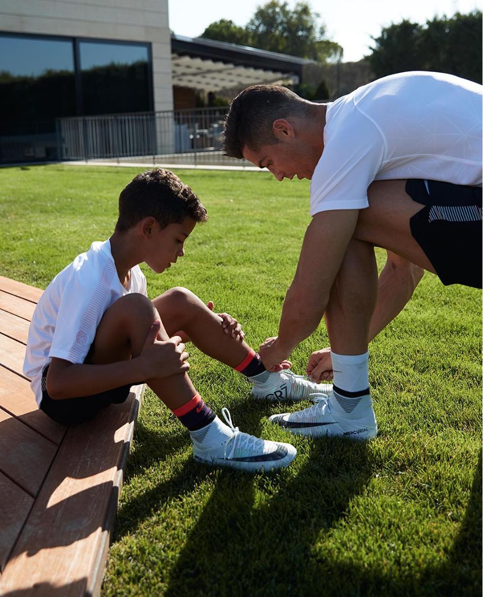 I gol del figlio di Cristiano Ronaldo