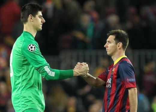 Courtois, l'incubo tunnel-Messi e il gol fotocopia. Il web si scatena
