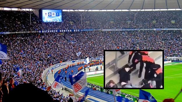 Tifoso dell'Herta Berlino si masturba allo stadio: arrestato