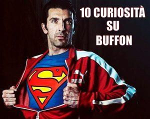 Gianluigi Gigi Buffon con la maglia di Superman