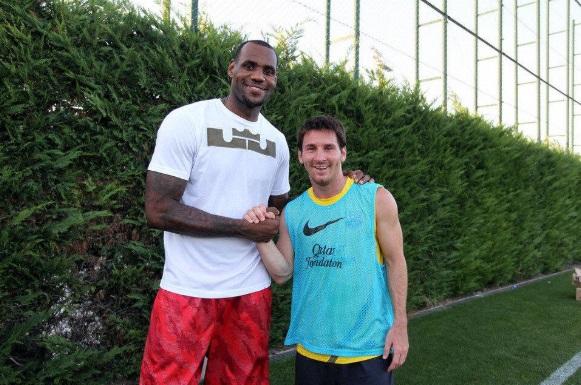 Perché corri? Messi e Lebron James camminano per l'80% delle partite