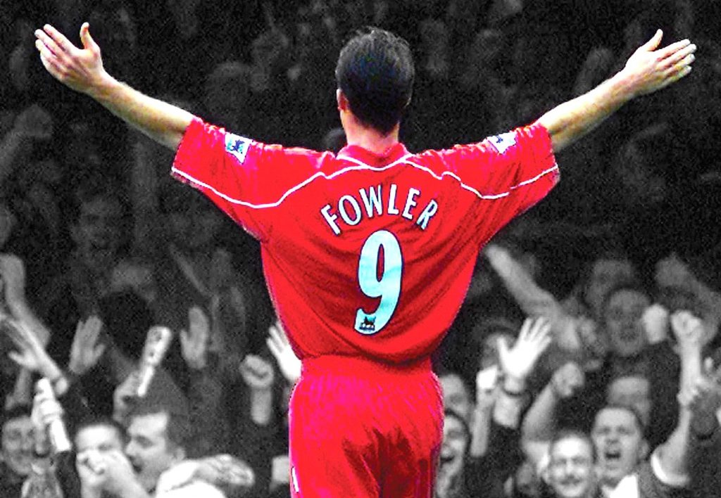 robbie fowler, liverpool. reds, kop, anfield