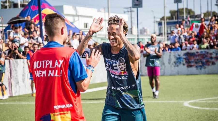 Neymar street soccer