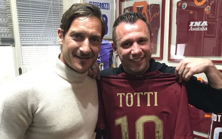 Totti show su Cassano e Balotelli
