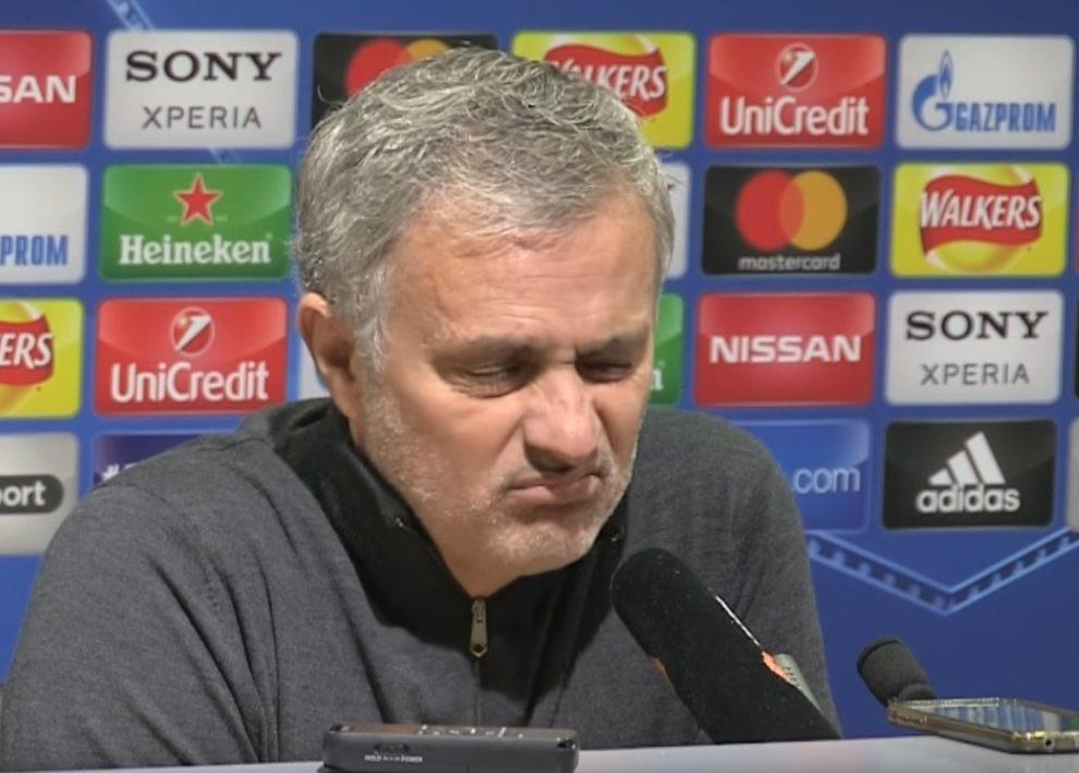 conferenza di mourinho
