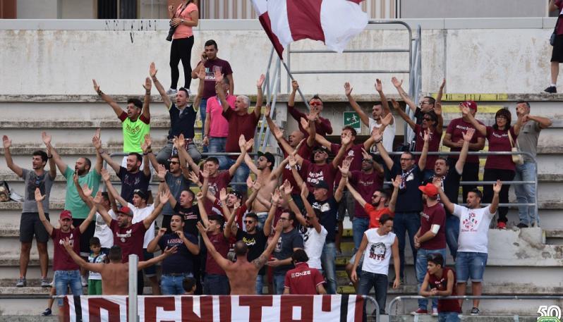 La Reggina vince 6 a 0 a Matera
