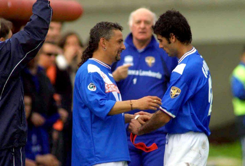 Baggio, Guardiola, Mazzone al Brescia
