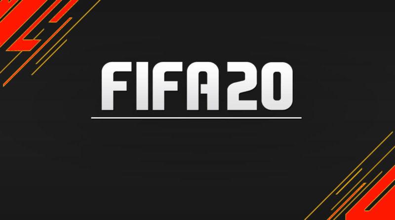 copertina di fifa 2020