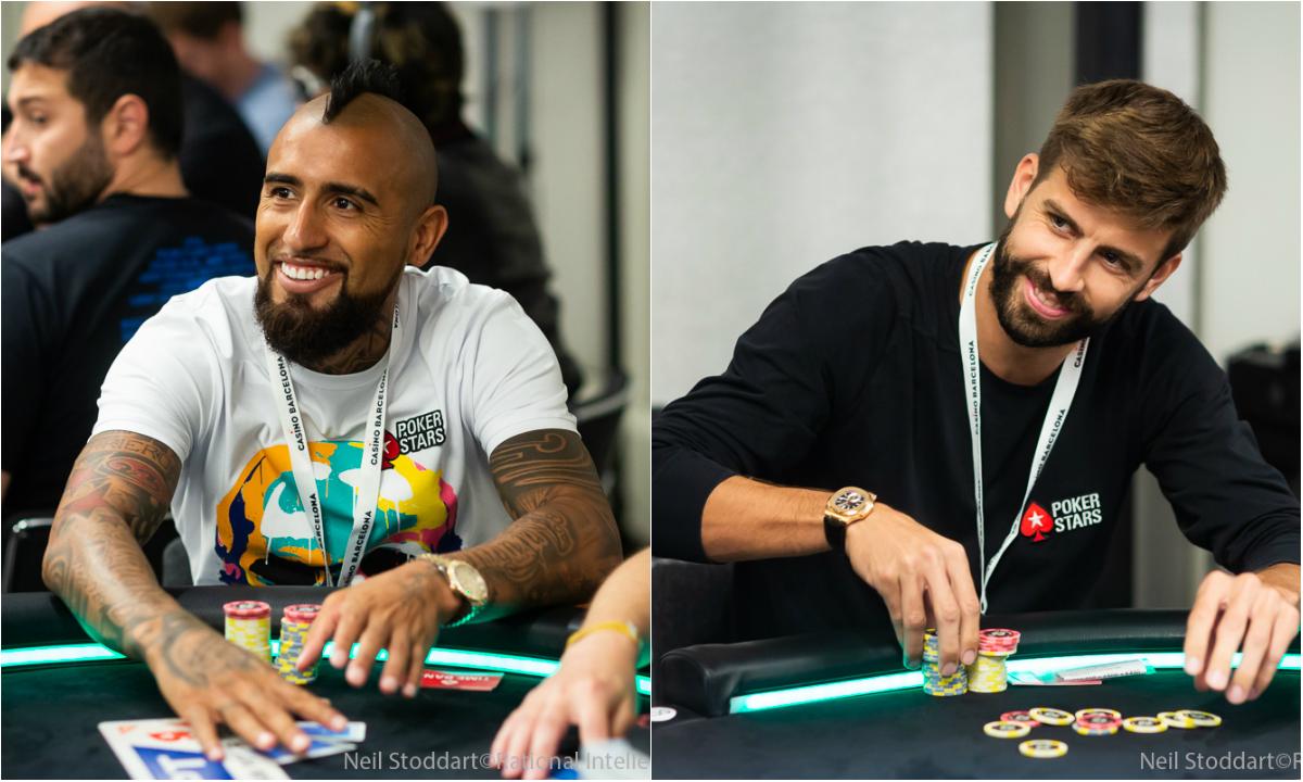 piquè e Vidal a poker