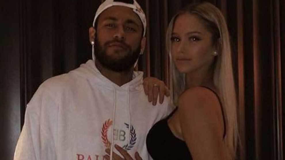 sabato sera di Neymar