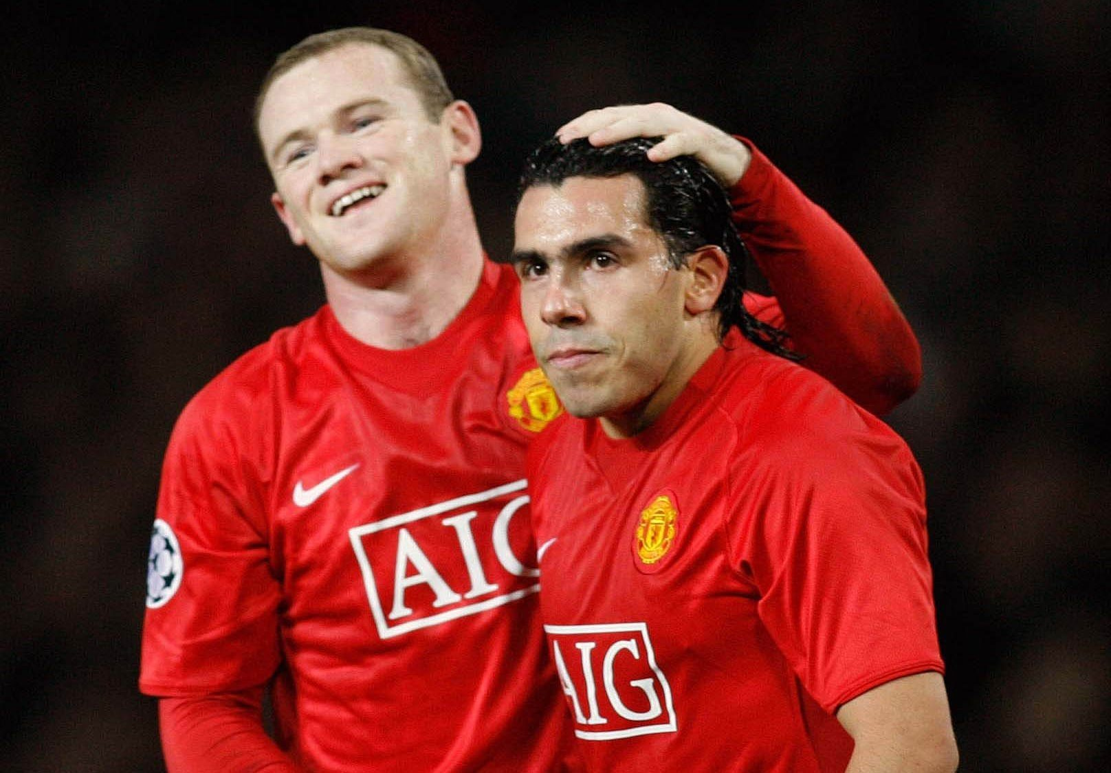 Tevez e Rooney