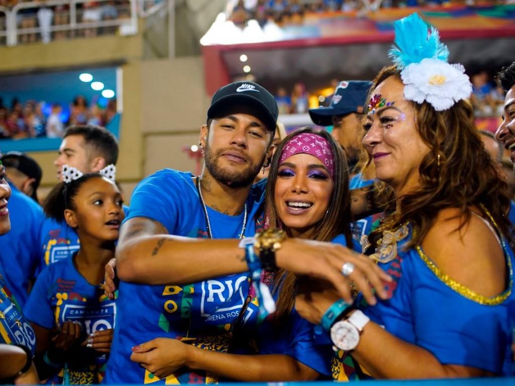 neymar al carnevale di Rio