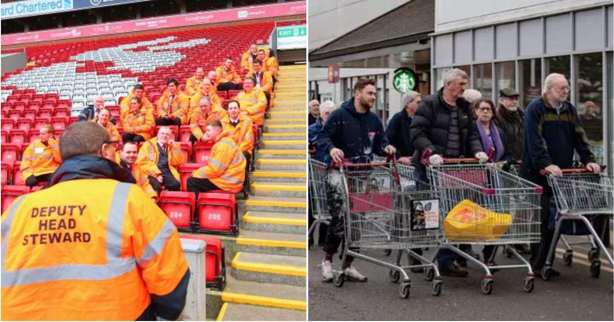 stewards di Anfield