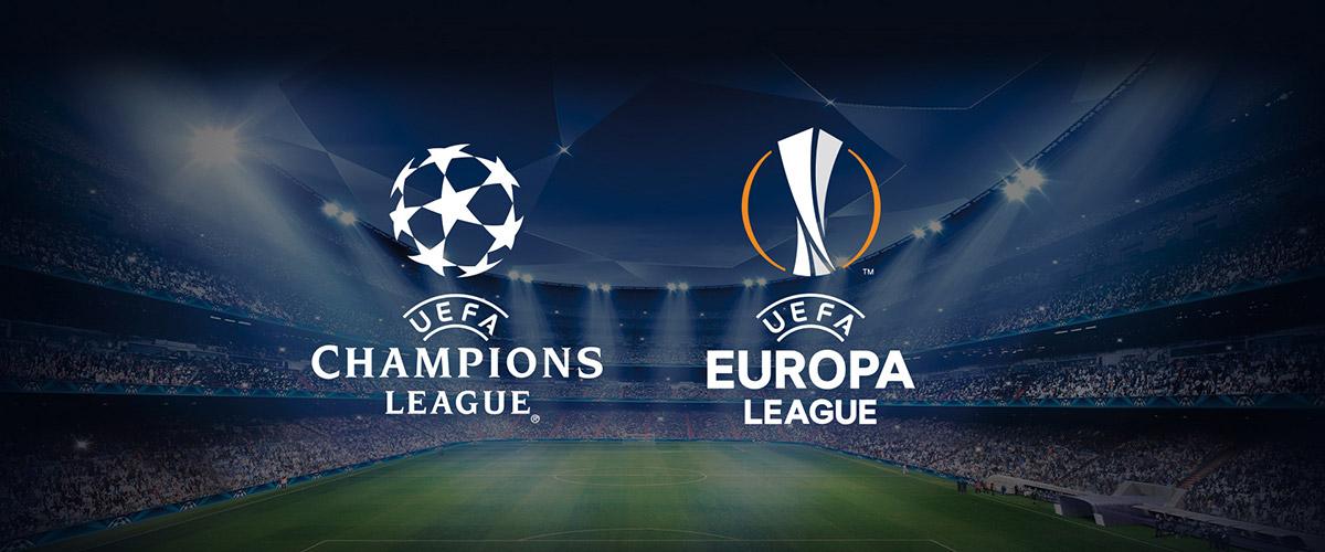 Sospensione Champions e Europa League