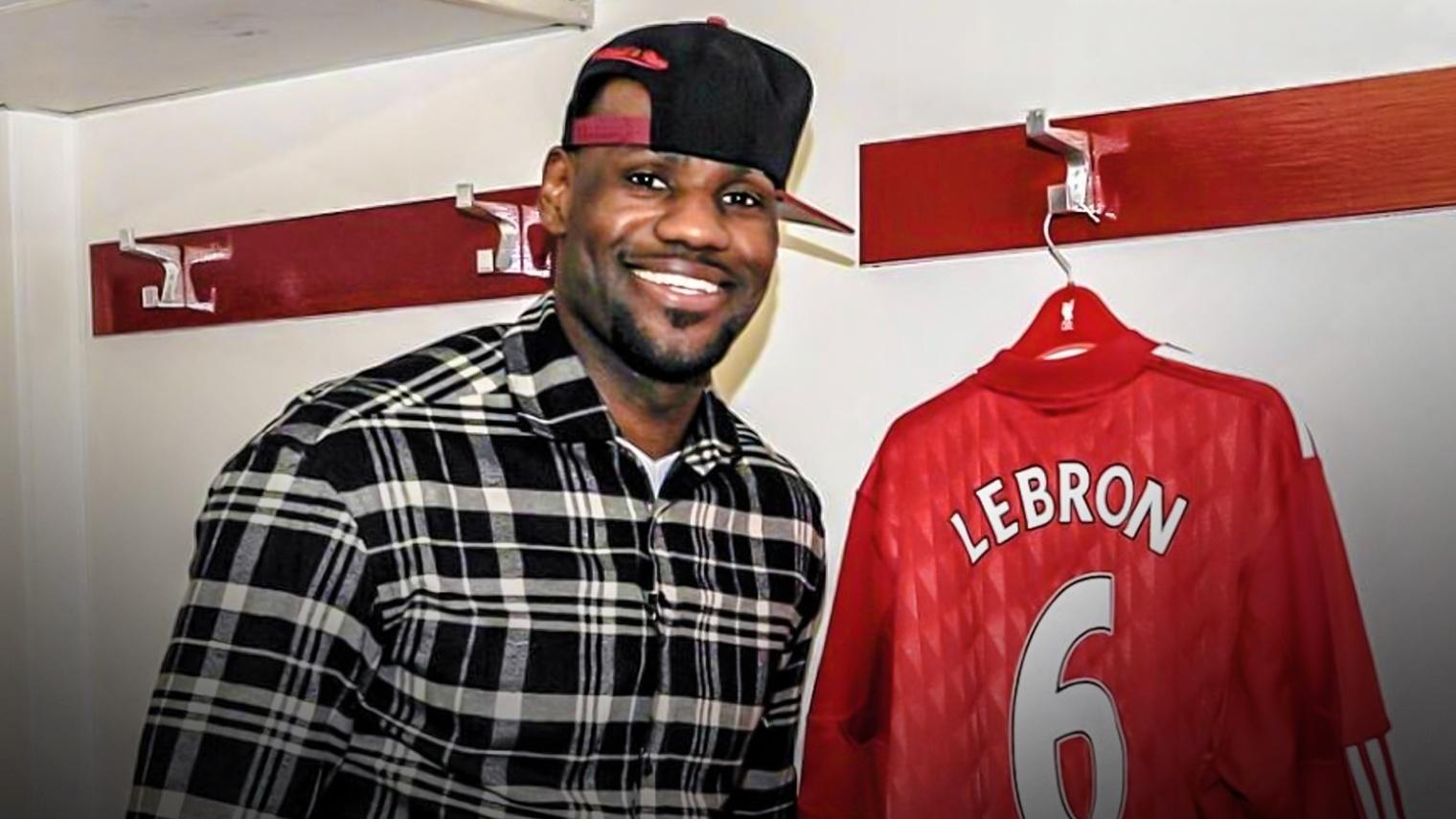 calciatori preferiti LeBron
