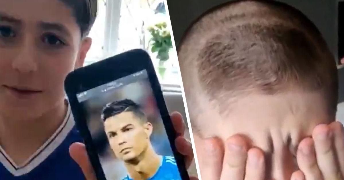 taglio alla Ronaldo