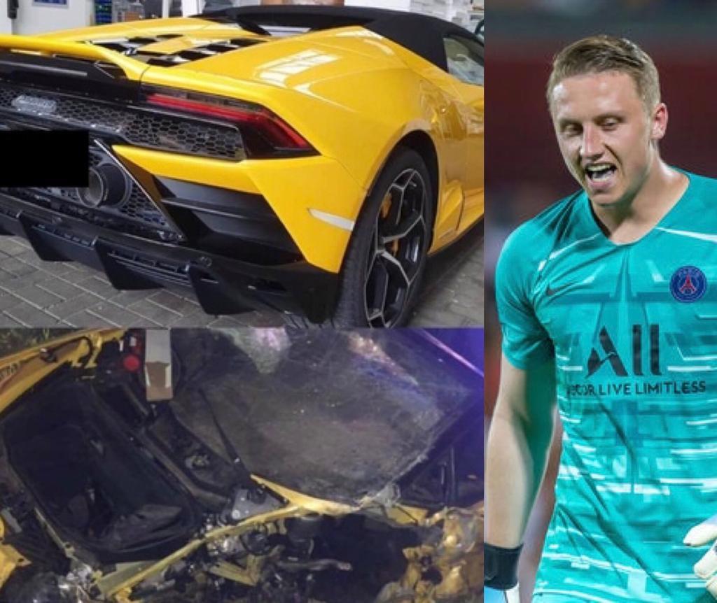 Psg Bulka distrugge Lamborghini