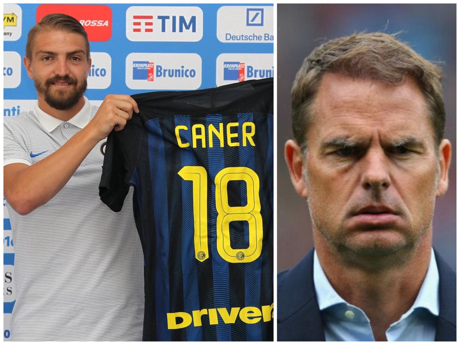 Inter Caner Erkin De Boer
