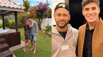 mamma di Neymar