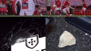 Benfica tifosi attaccano bus
