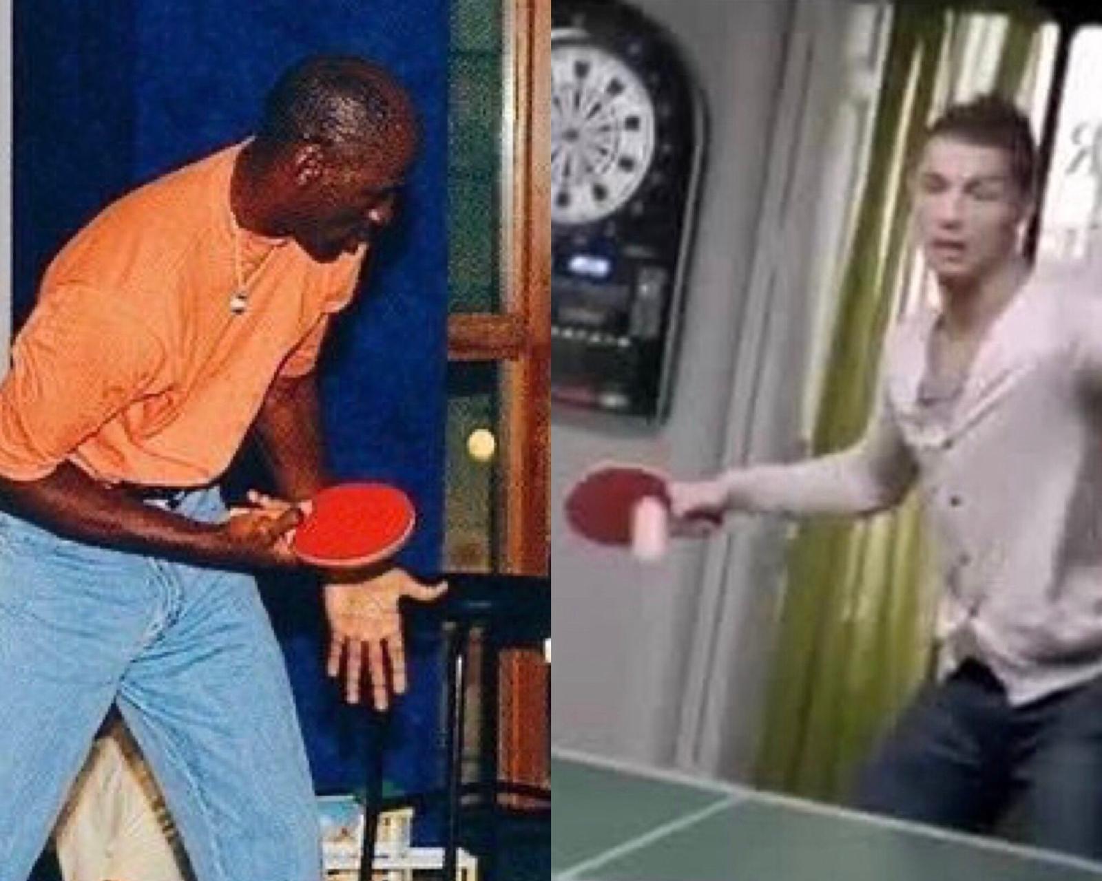 CR7 Jordan ping pong