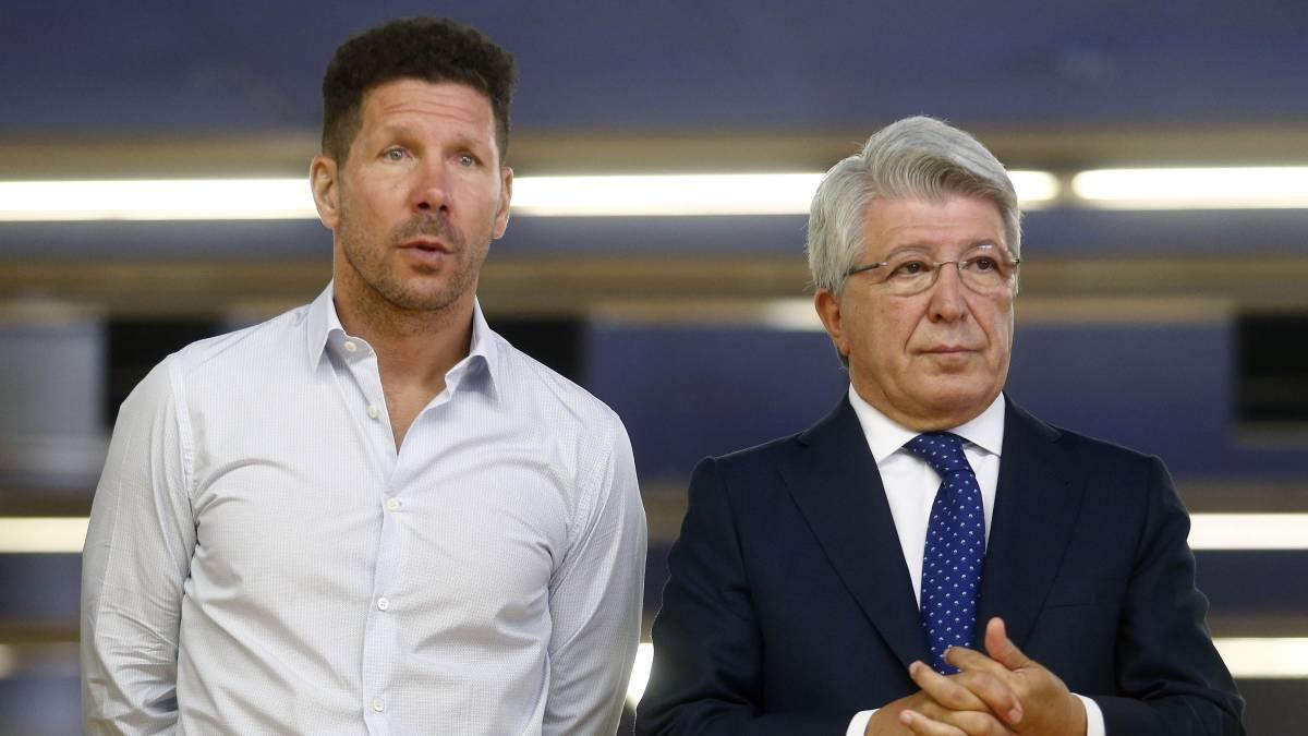 presidente Atlètico Madrid tifosi