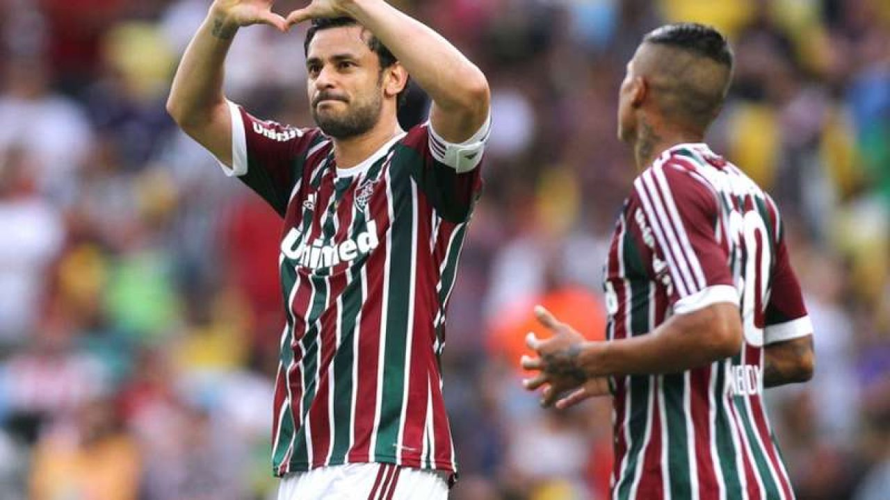 Fred Fluminense in bicicletta