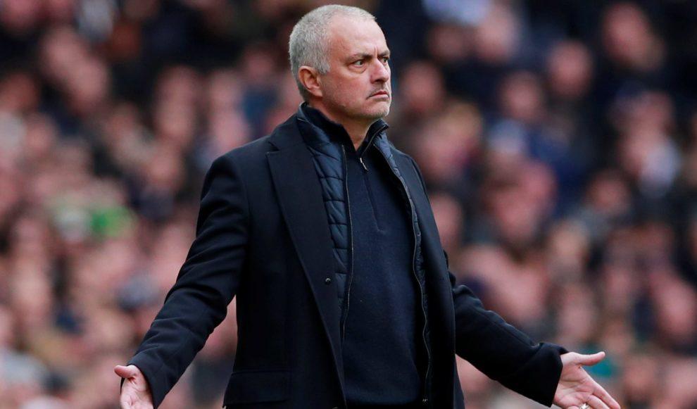 kane con Mourinho