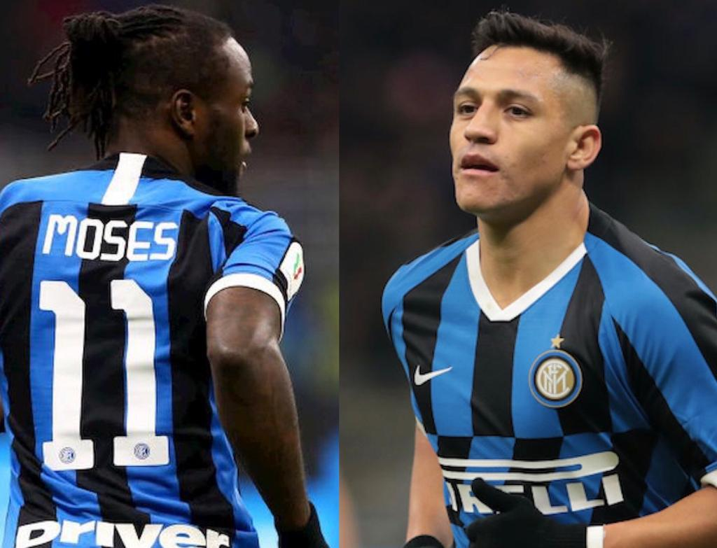 Europa League Inter Sanchez Moses