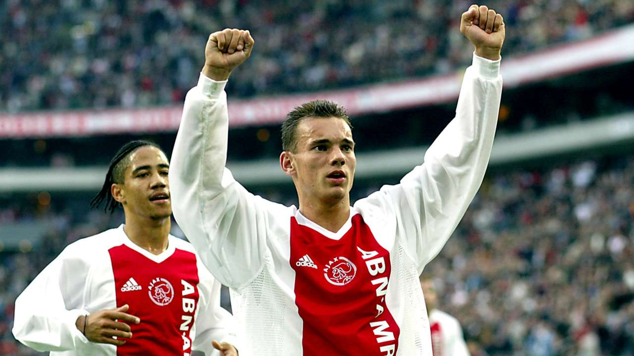 guerra Sneijder tifosi Ajax