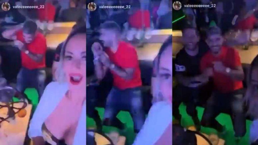 Banega in discoteca