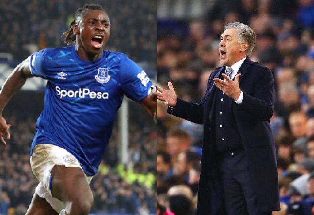 Everton Ancelotti Kean
