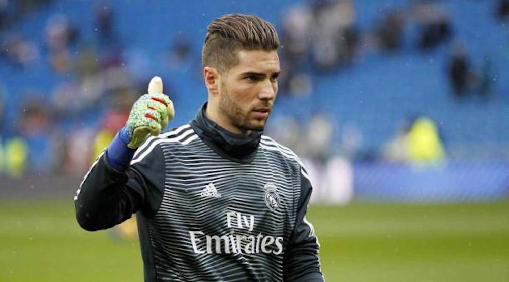 luca Zidane lascia real