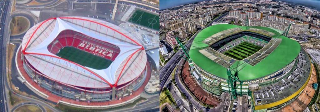 Champions League Lisbona stadi
