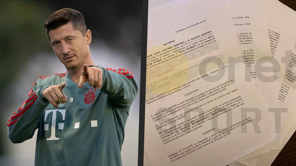 Lewandowski contratto Real