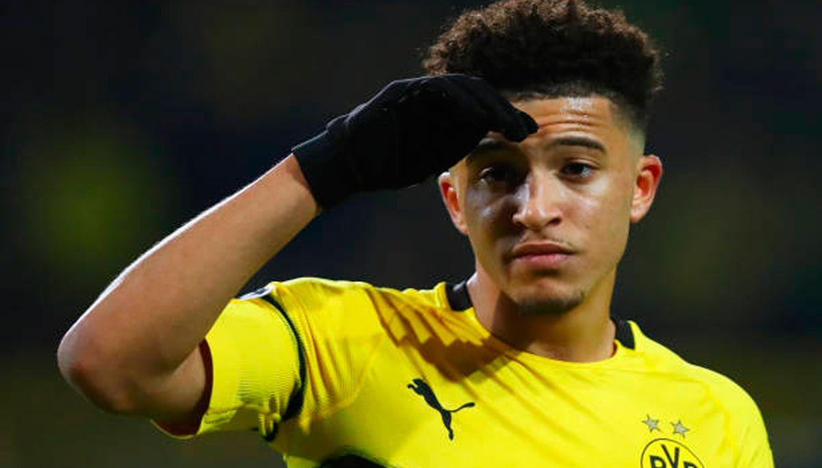 Sancho resta al Borussia Dortmund