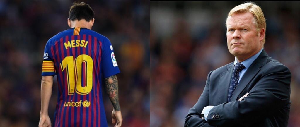 Barcellona Messi Koeman