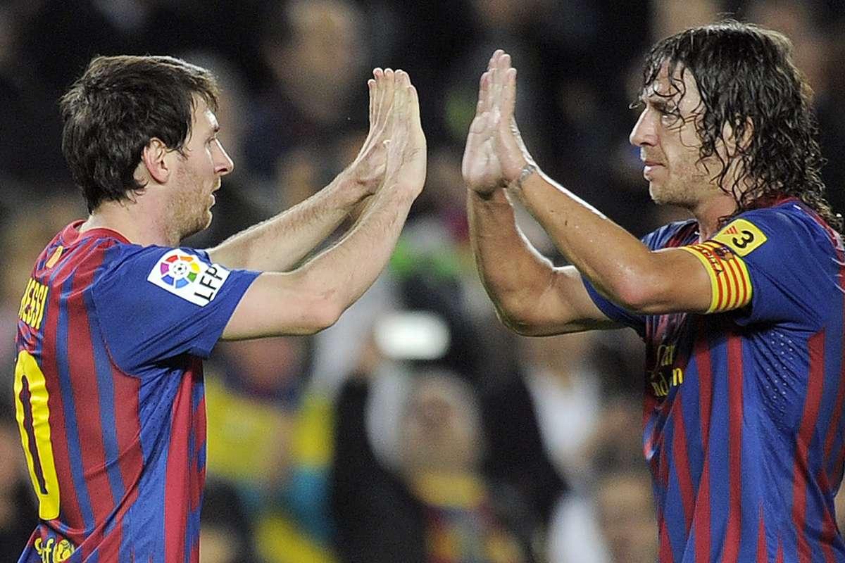 Barcellona Messi Puyol