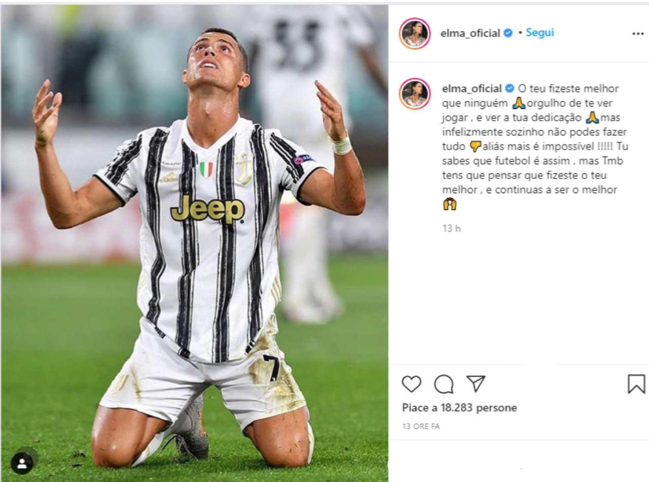 Juventus sorella Cristiano Ronaldo