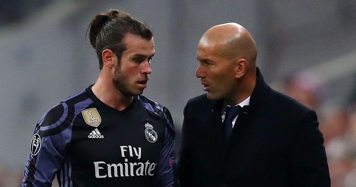 Gareth bale e Zidane