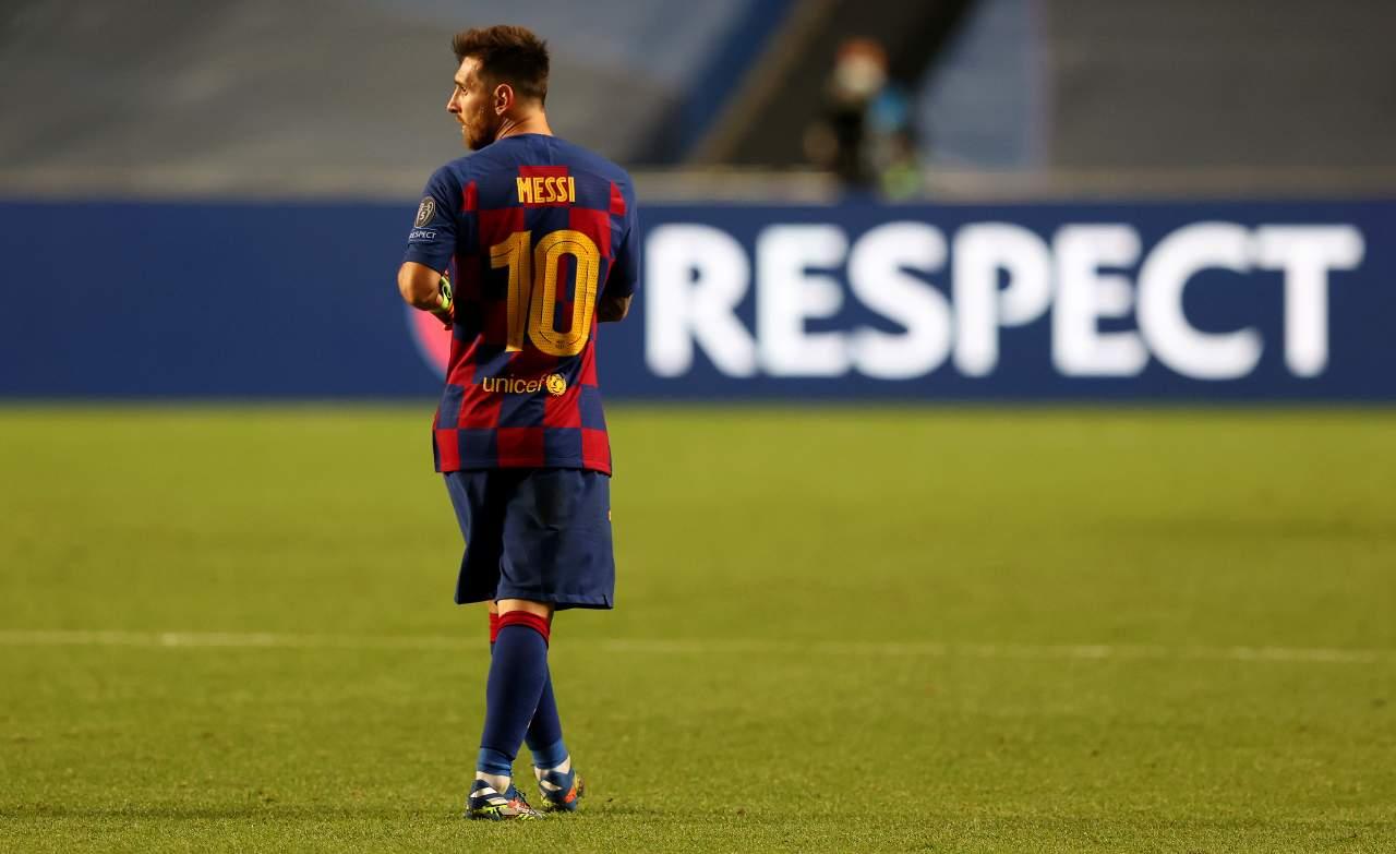 Caso Messi Barcellona