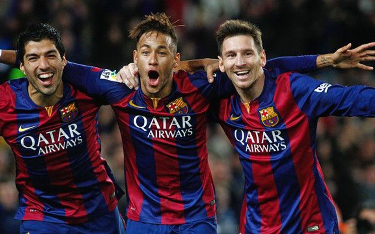 Neymar Suarez Barcellona