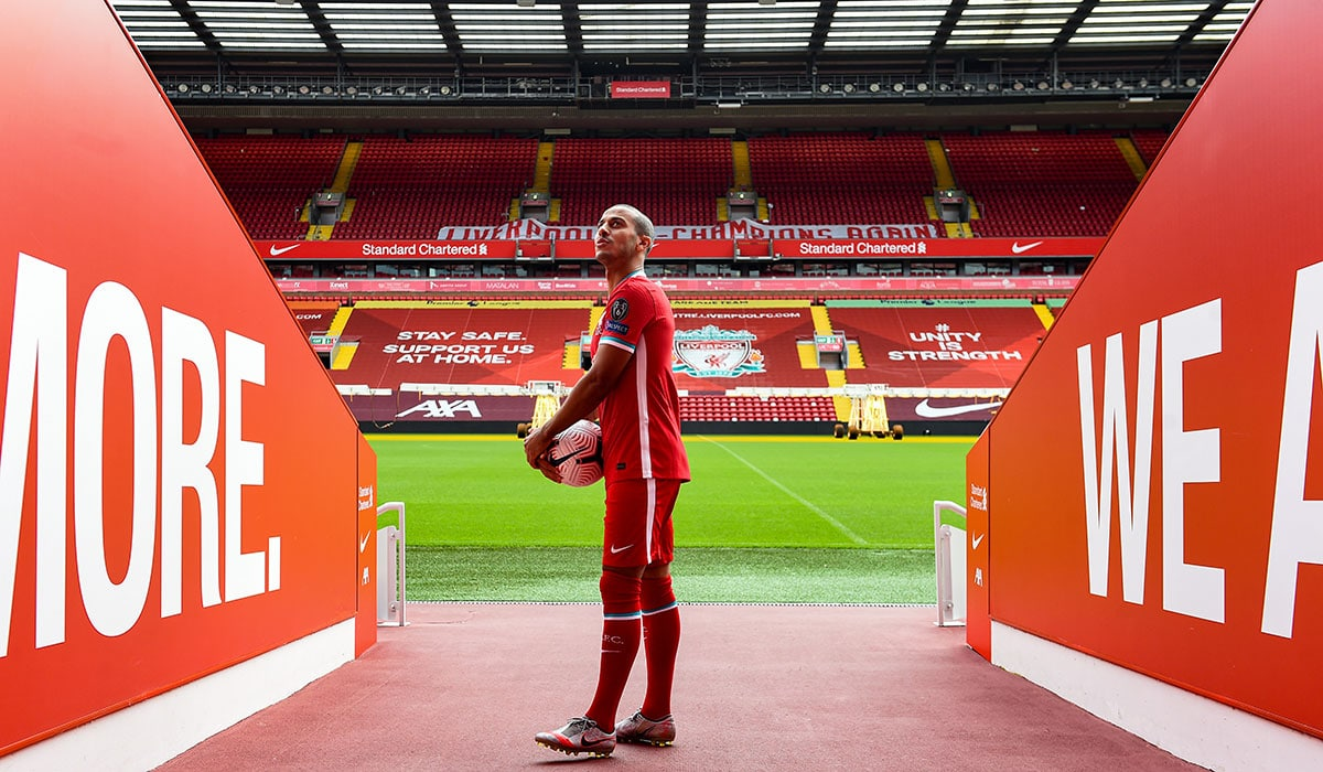 Thiago Liverpool record