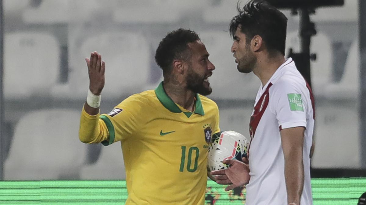 Zambrano accusa Neymar pagliaccio